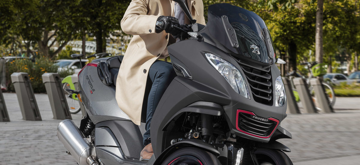 scooter 3 roues Peugeot Metropolis RS Mat Black Dynamic